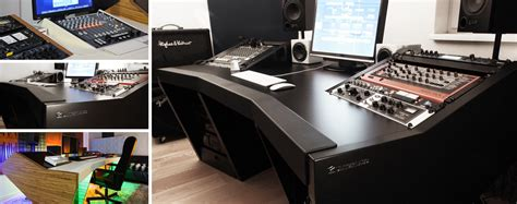 professional recording studio desk unterlass duodesk 60 studio furniture by arno unterlass