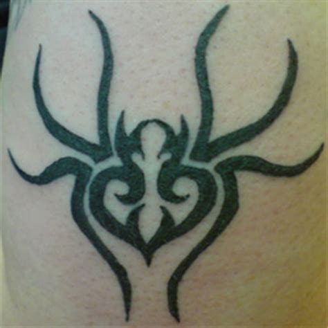 tribal black widow tattoo tribal black widow