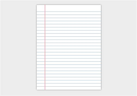 How To Make Notebook Paper - notebook paper background free vector 36857 free