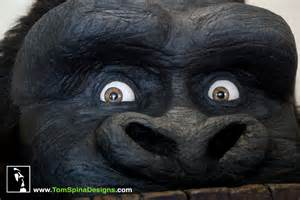 king kong gorilla themed furniture amp hand chairs tom spina designs 187 tom spina designs