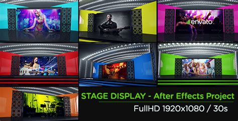 videohive templates after effects project files stage display after effects template videohive 5229854