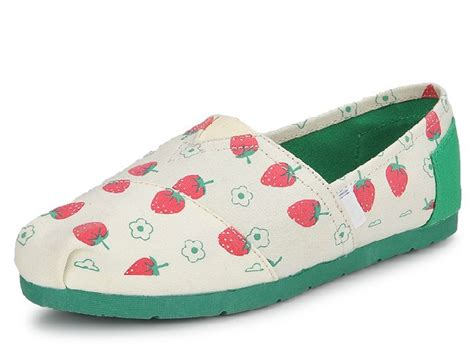 Sandal Strawberry Size 34 40 2013 new design loafers shoes canvas shoes with sweet strawberry flat shoes sneakers