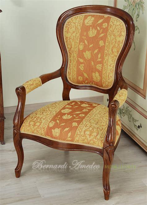 poltrona luigi filippo poltrone 2 sedie poltroncine divanetti