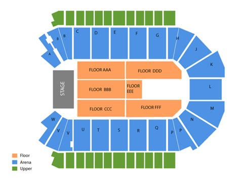 Budweiser Event Center Calendar Budweiser Events Center Seating Chart Events In Loveland Co