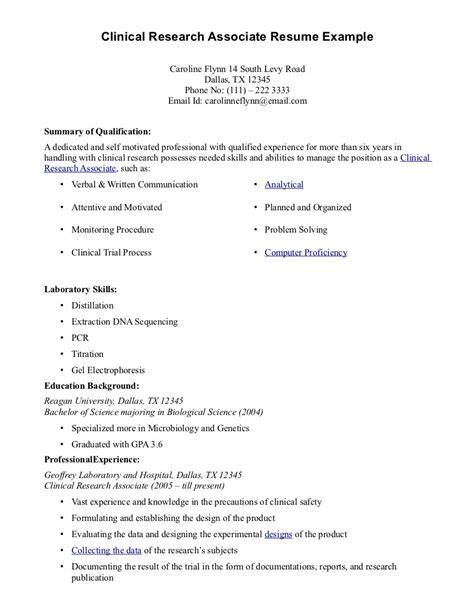 Research Assistant Resume Sle by Cover Letter For Test Engineer
