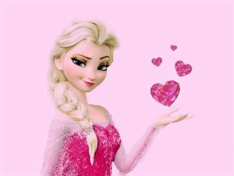 pink elsa wallpaper pink elsa via facebook image 1659829 by taraa on