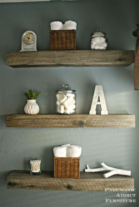 floating shelves no holes wood floating shelves amazoncom reclaimed barn wood