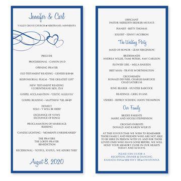 free printable wedding program templates word instantly and print these designer wedding