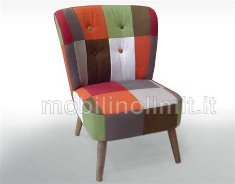 tappezzare divano costo poltroncina brigitta patchwork