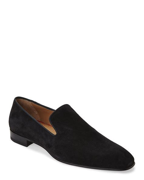 christian louboutin patent leather loafers, replica