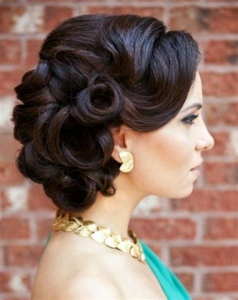 Vintage Wedding Updos Hair by Show Me Your Retro Glam All Or Half Up