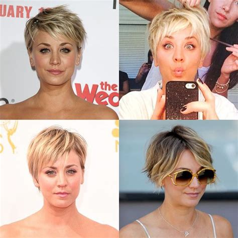 how to get kelly cuoco pixie haircut insructions kaley cuoco short hair pixie cut new hair pinterest