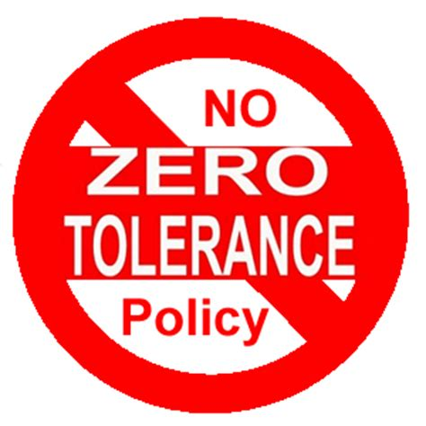 Activism At Work Victim Of Quot Zero Tolerance Quot Idiocy Sees Punishment Dramatically Reduced Due To Zero Tolerance Policy In The Workplace Template