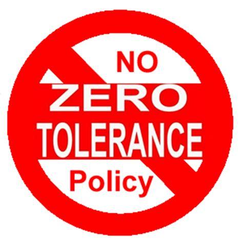 zero torelance activism at work victim of quot zero tolerance quot idiocy sees