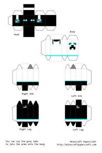 minecraft paper crafts templates google search
