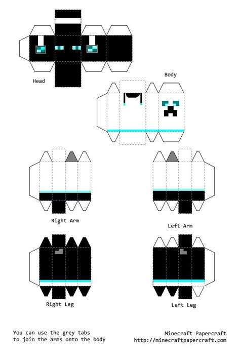 Minecraft Papercraft Skins - minecraft paper crafts templates search