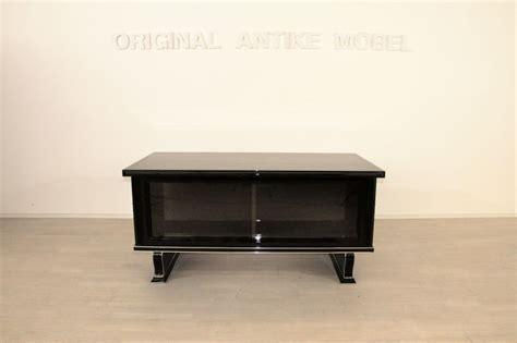 Holz Lackieren Klavierlack by Deco Schreibtisch Klavierlack Mit Chromleisten Ebay