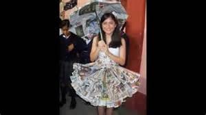 trajes hechos con material reciclable vestidos ecologicos con materiales reciclables youtube