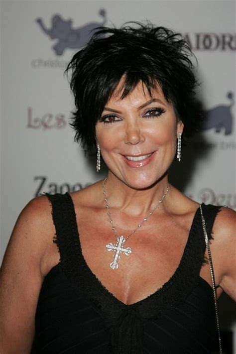 photo of kim kardashians mothers hairstyle kris kardashian haircut
