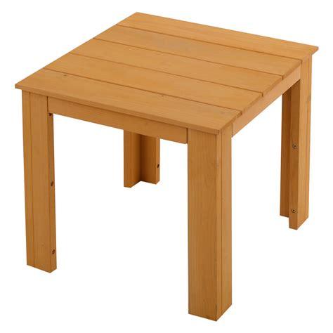 small  table wood tea coffee side table indoor outdoor