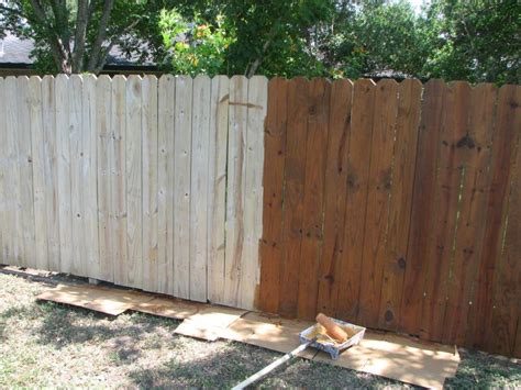 restoring a wooden fence ashmore paint