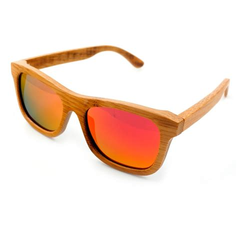 Handcrafted Sunglasses - bobo bird 100 bamboo wooden sunglasses handmade