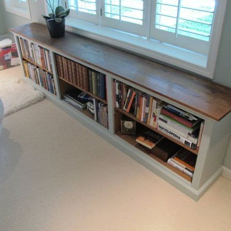 low profile bookshelf for the home