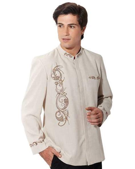 Baju Muslim Baju Koko Pria Bordir Casual Kode Ad114 Orange dinomarket pasardino baju muslim pria model jasko kode ajxmi