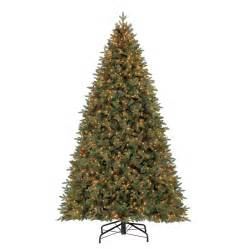 shop holiday living 9 ft 5222 count pre lit hayden pine
