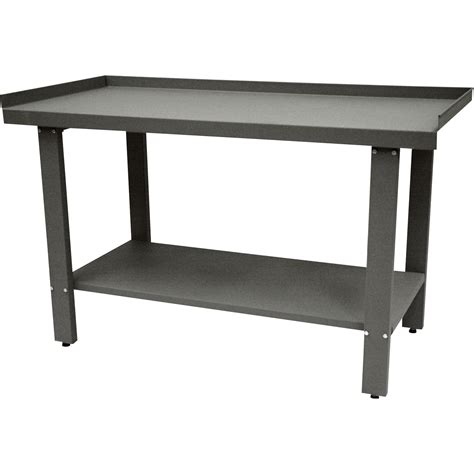 metal work benches image gallery metal workbench