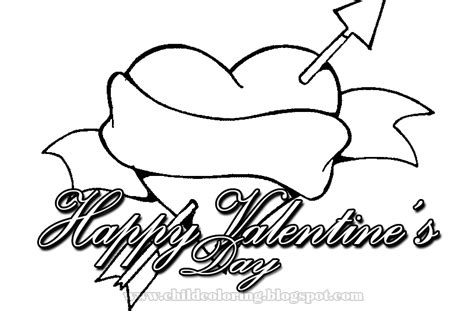 Happy Valentine 180 S Day Coloring Child Coloring Happy Valentines Day Coloring Pages