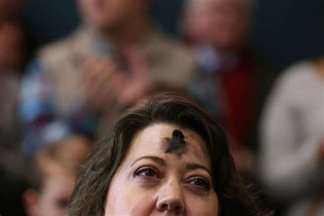 Cross On Forehead Meaning Why Do Fast For Lent Vox