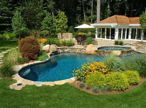 pool landscaping ideas create  perfect backyard