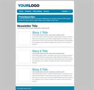 free html newsletter templates free newsletter templates for