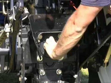 holland tractor pto video youtube
