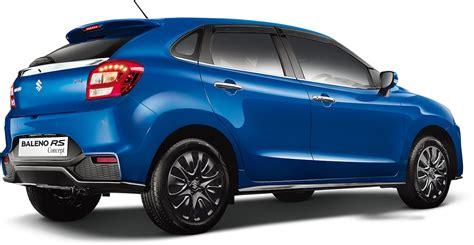 Profile Of Maruti Suzuki 2017 Maruti Suzuki Baleno Rs Specs Leaked Prior To