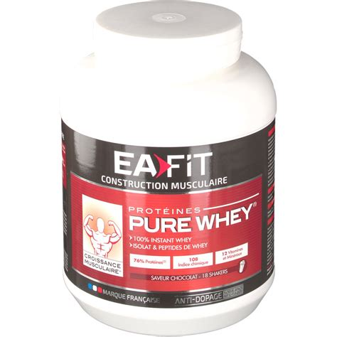 Ea Fitness by Ea Fit Construction Musculaire Maxi Whey Chocolat