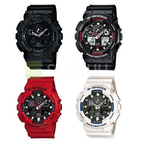 Casio G Shock Gax100 casio g shock ga 100 1a1er series shock water resistant