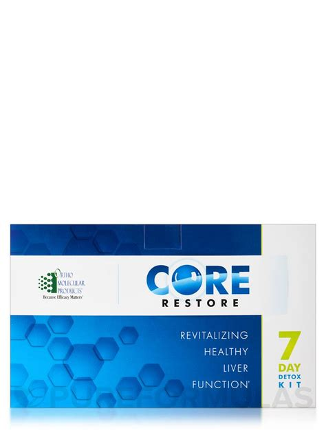 Orthomolecular Detox Program by Restore 7 Day Detox Kit