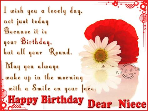 Birthday Quotes For A Special Niece Happy Birthday Niece Quotes Quotesgram