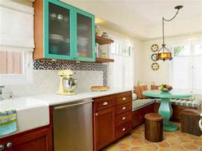Different Color Kitchen Cabinets 30 Painted Kitchen Cabinets Ideas For Any Color And Size