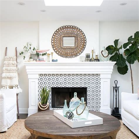 cement fireplace surround best 25 mosaic tile fireplace ideas on