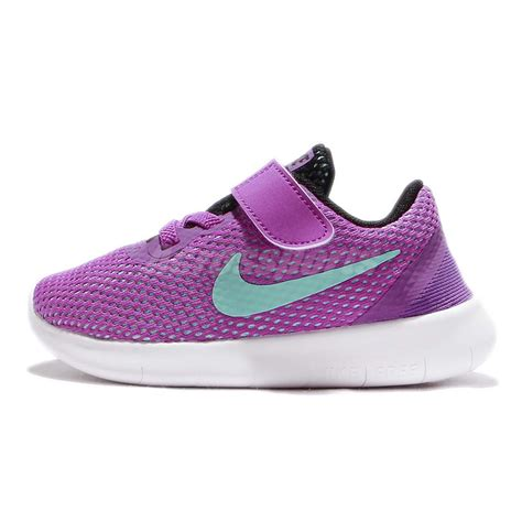nike free run toddler shoes nike free rn tdv run purple blue toddler infant baby