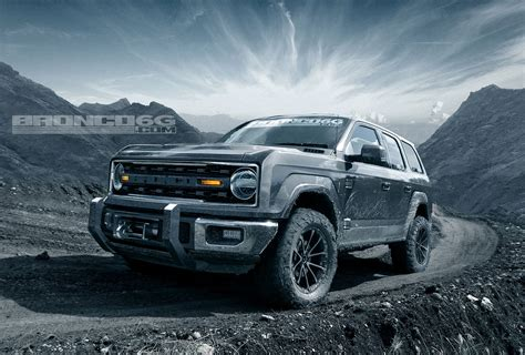 Rendering 2020 Ford Bronco Four Door Suv Looks Ready To