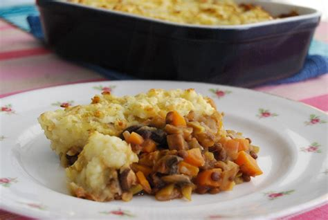 Lentil Cottage Pie by And Lentil Cottage Pie With A Root Vegetable