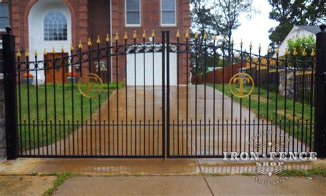 custom iron gate   family initial letter