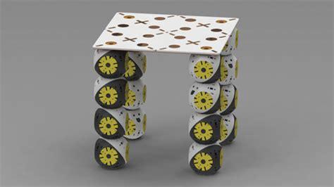 this shape shifting furniture assembles like lego modular self assembling robots will replace furniture
