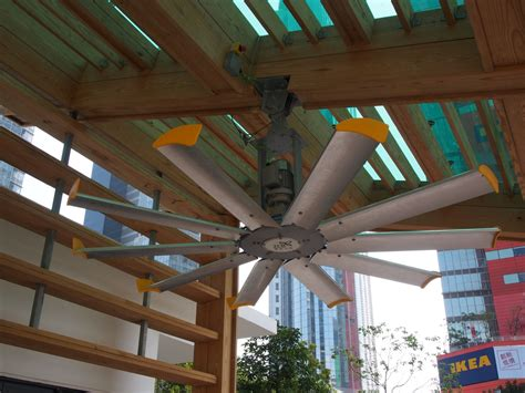 high volume low speed fans zero carbon building hong kong krueger group