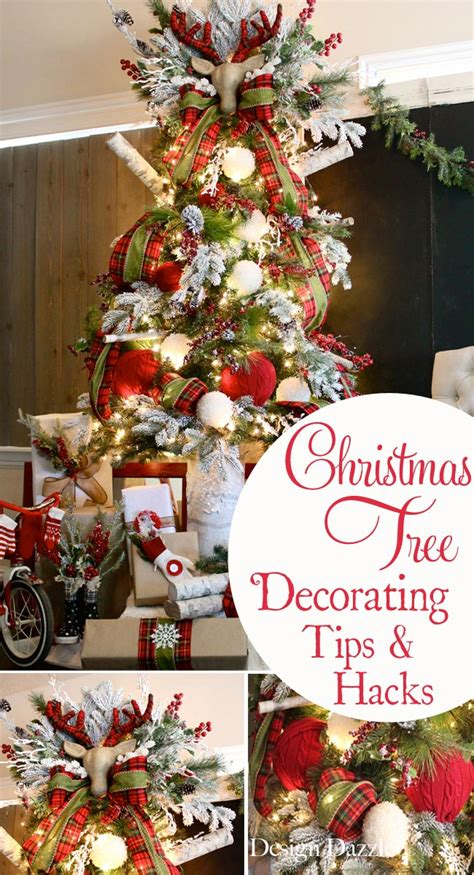 how to decorate for christmas christmas tree decorating tips hacks design dazzle