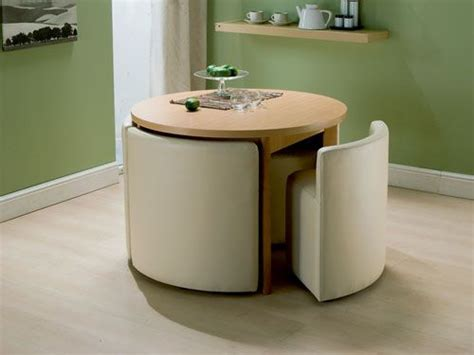 Space Saving Kitchen Table Space Saving Dining Table Chairs Smiuchin